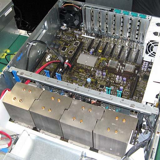 Intel Caneland-Plattform | Quelle: The Tech Report