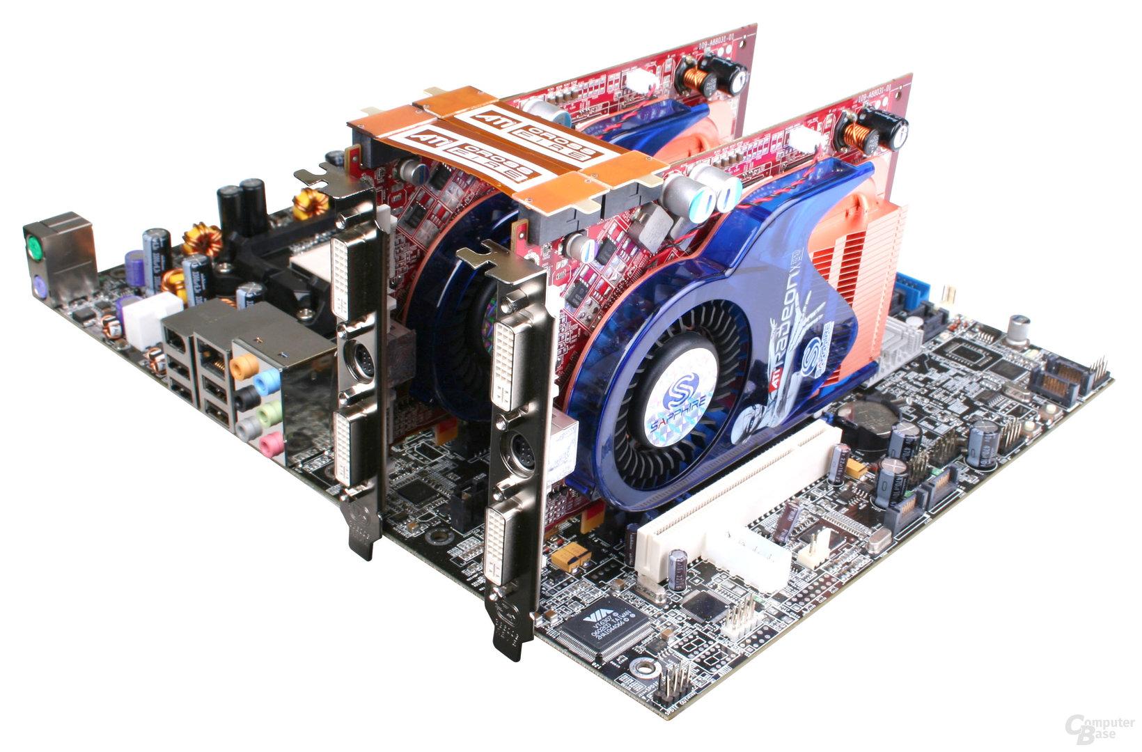 Sapphire Radeon X1650 XT CrossFire