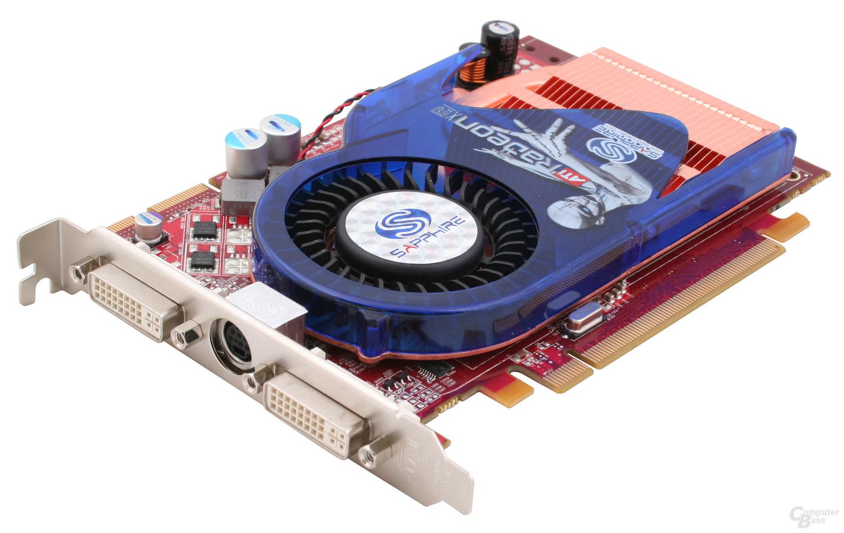 Sapphire Radeon X1650 XT Anschlüsse