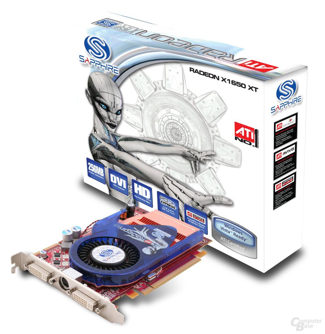 Sapphire Radeon X1650 XT Box