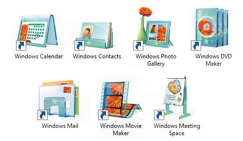 Neue Icons in Windows Vista