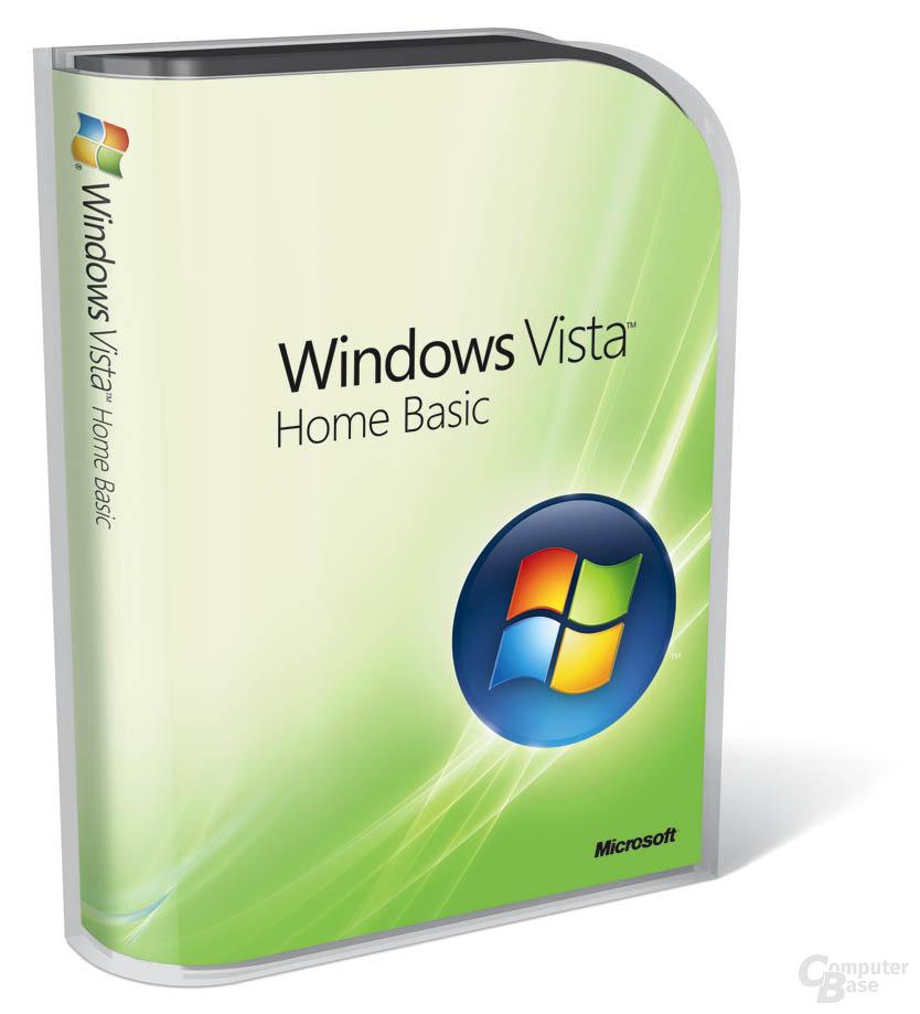 Windows Vista Basic Verpackung