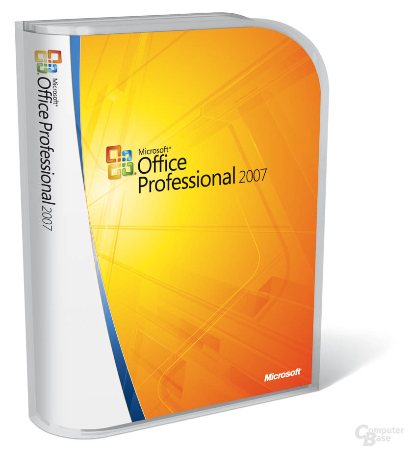 Office Professional 2007 Verpackung