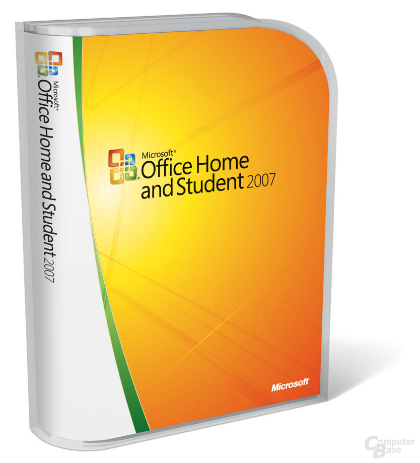 Office Home and Student 2007 Verpackung