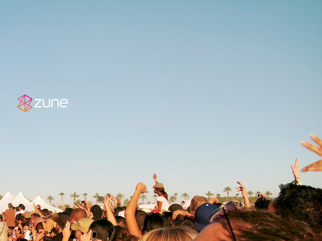 Zune Theme - Hintergrund (1024x768)