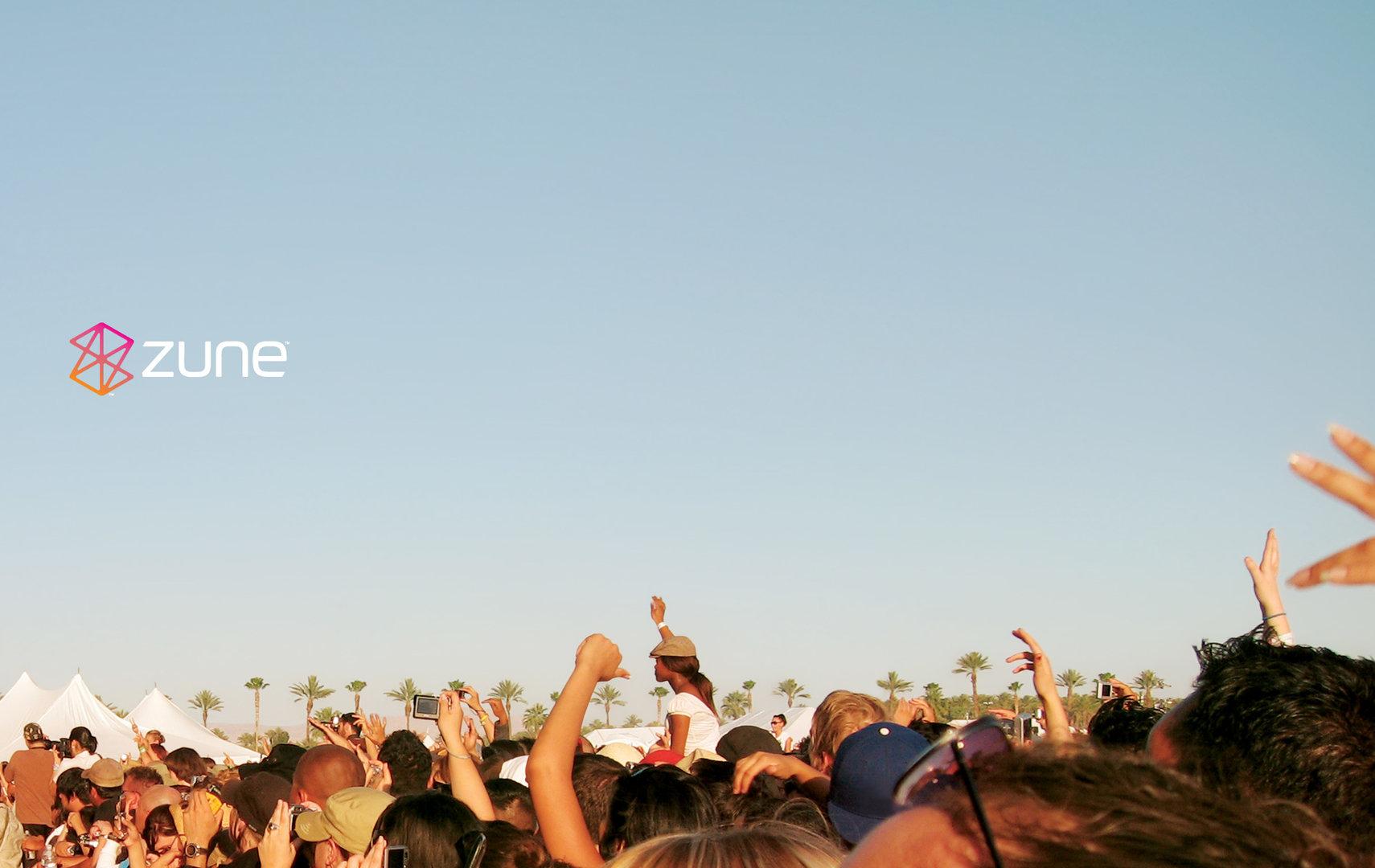 Zune Theme - Hintergrund Widescreen (1900x1200)