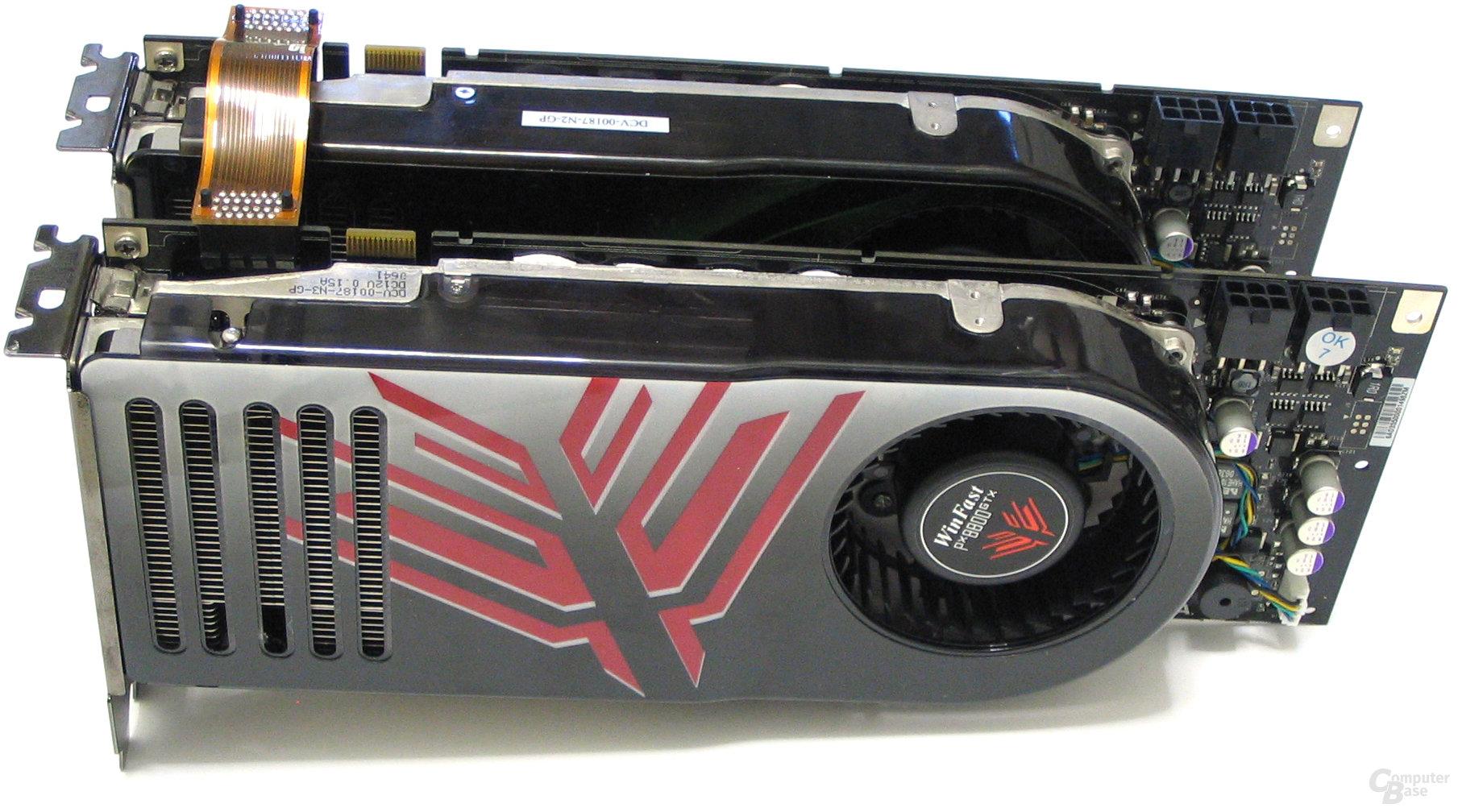 GeForce 8800 GTX SLI
