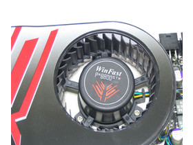 WinFast PX8800 GTX Luefter