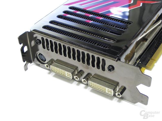 WinFast PX8800 GTX Slotblech