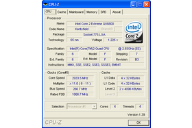 Intel Core 2 Extreme QX6800 (CPU-Z)