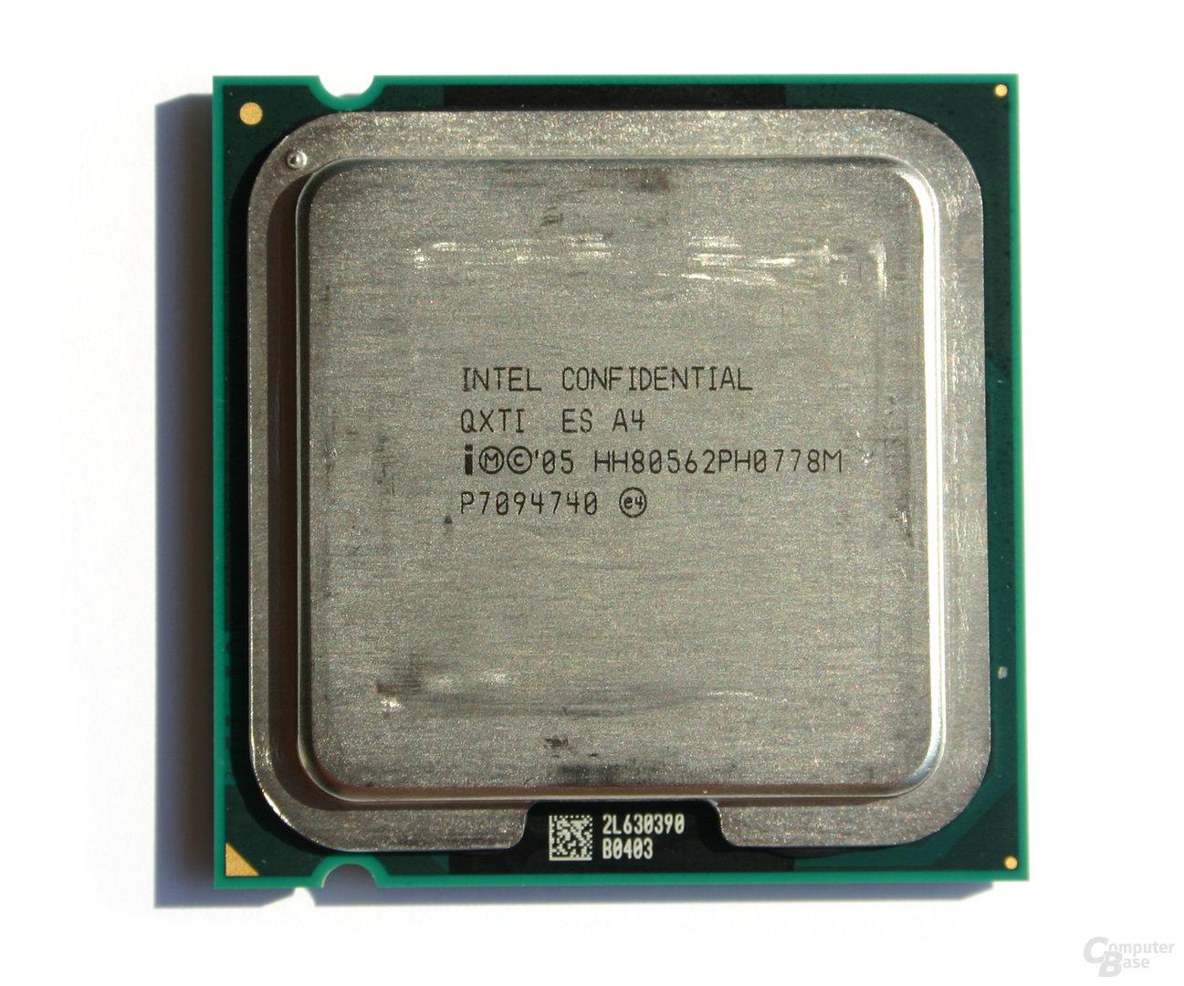 Intel Core 2 Extreme QX6800 (Draufsicht)