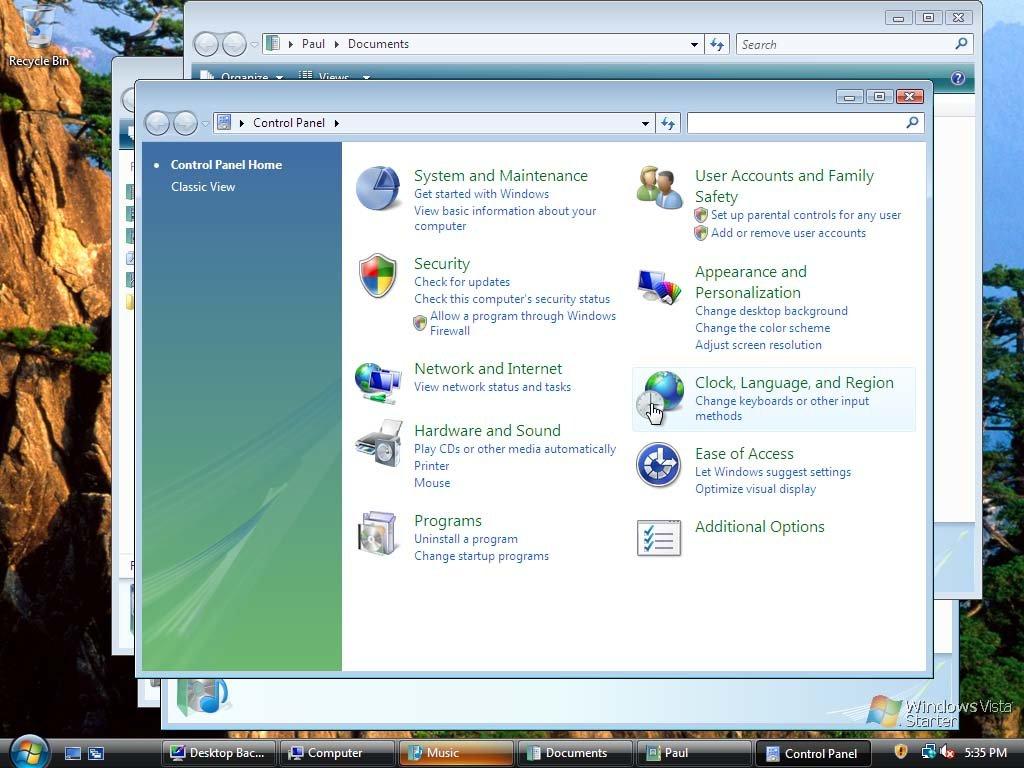 Windows Vista Starter