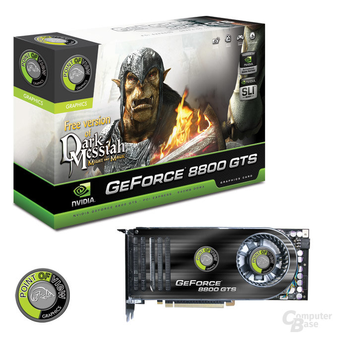 Point of View GeForce 8800 GTS