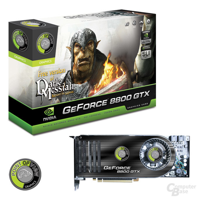 Point of View GeForce 8800 GTX