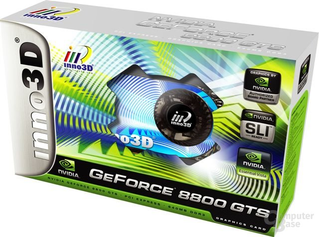 inno3D GeForce 8800 GTS