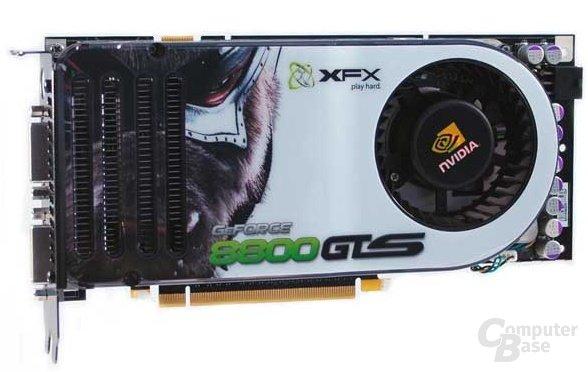 XFX GeForce 8800 GTS
