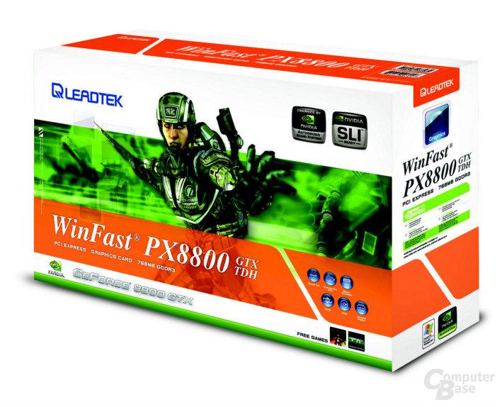 Leadtek Winfast PX8800 GTX TDH Box