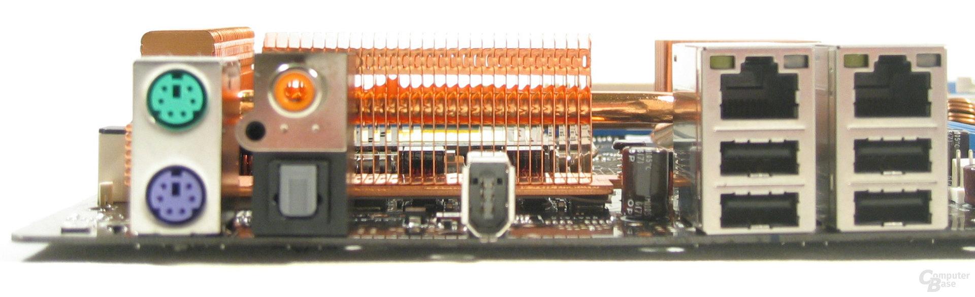 Asus P5N32-E SLI ATX-Blende