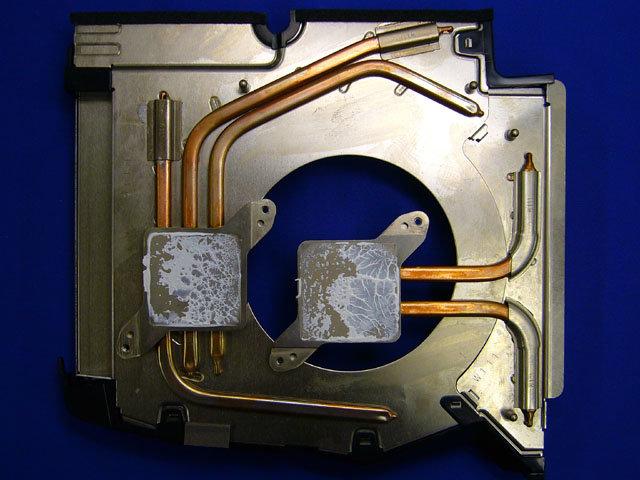 Heatpipe-System der PlayStation 3