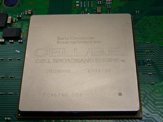 Cell-Prozessor der PlayStation 3