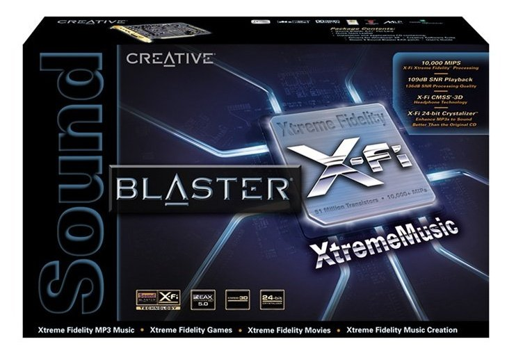 Sound Blaster X-Fi Xtreme Music
