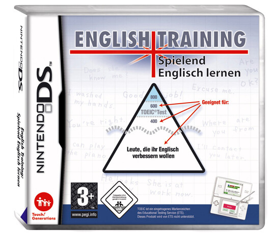 English Training für Nintendo DS