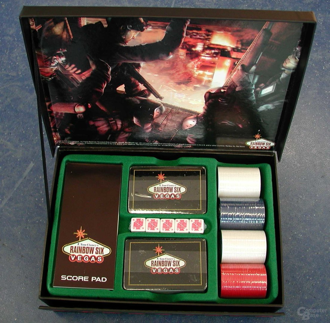 Rainbow Six Vegas Pokerset