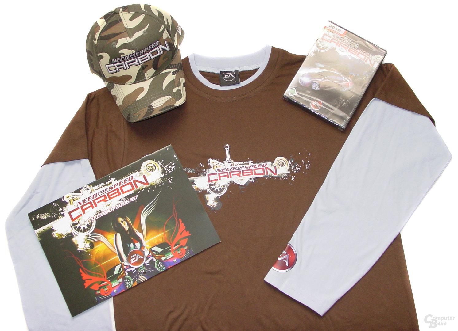 Fanpaket zu Need for Speed Carbon von Electronic Arts