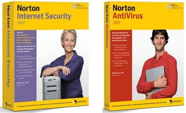 Norton AntiVirus und Internet Security 2007