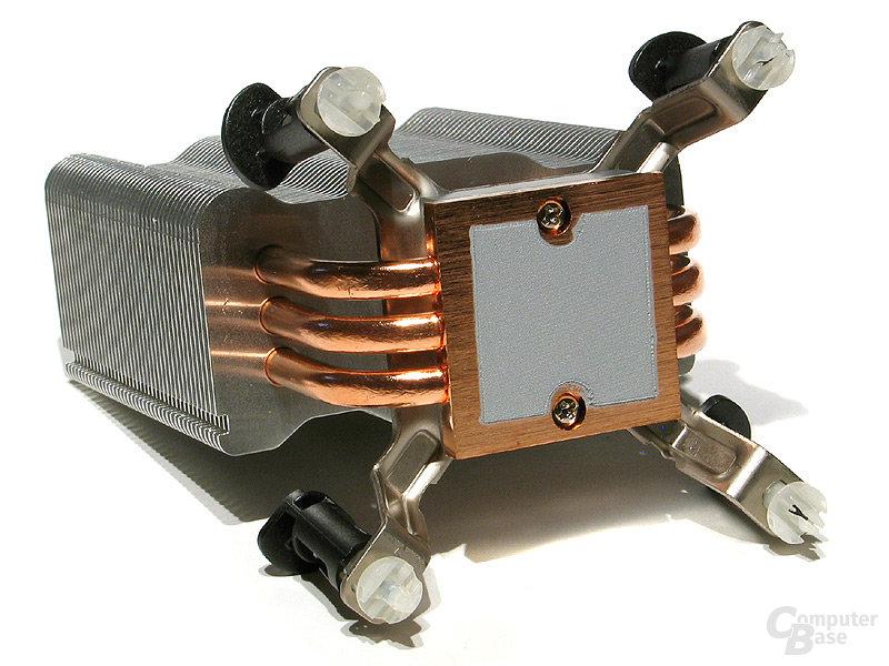 Push-Pin-Montierung auf Intel Sockel 775
