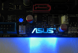 Asus-Logo, blau