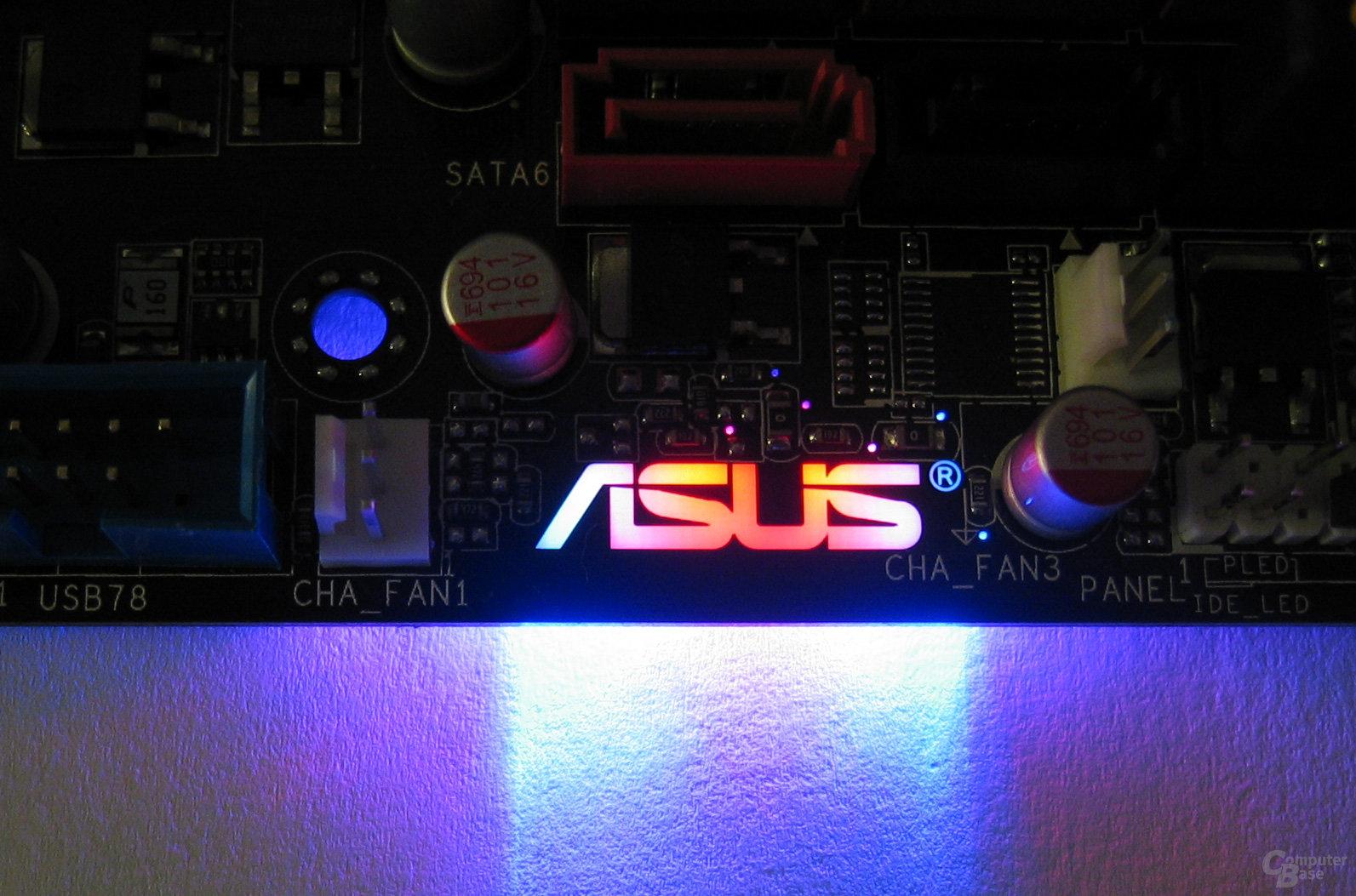 Asus-Logo, rot