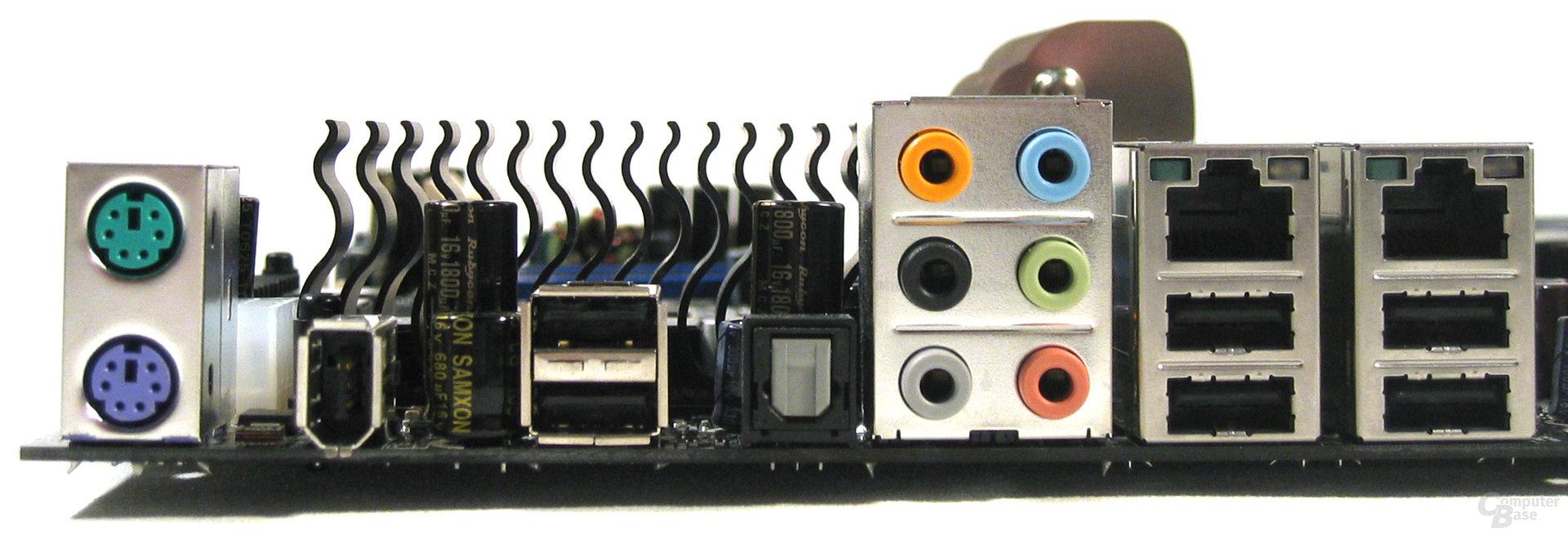 EVGA 680i SLI ATX-Blende