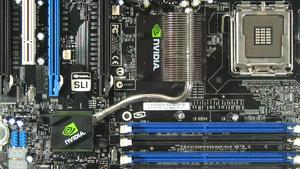 Nvidia nForce 680i SLI im Test: Schlagabtausch mit Intel P965