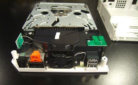 Rückseite der Wii