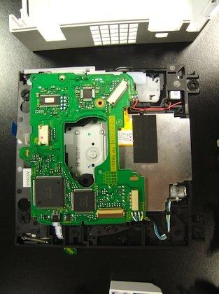 Optisches Laufwerk der Wii