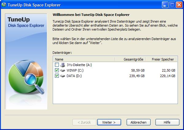Disk-Space-Explorer