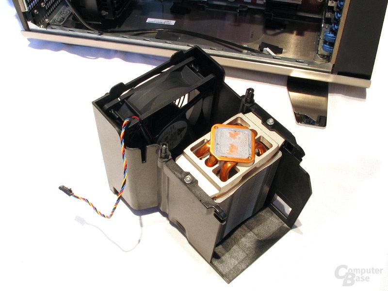 Hybrid-Kühlkörper mit Delta-Belüftung