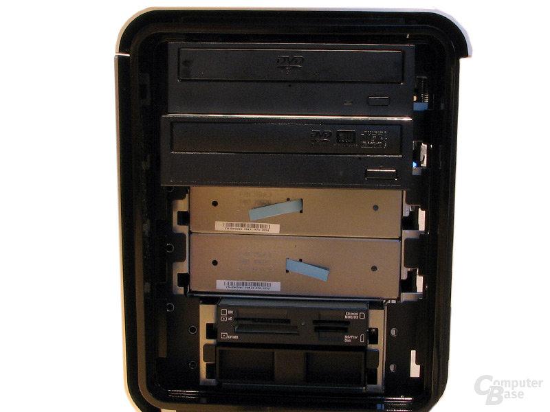 Wechselmedien: DVD-Brenner, -Laufwerk und Multicardreader