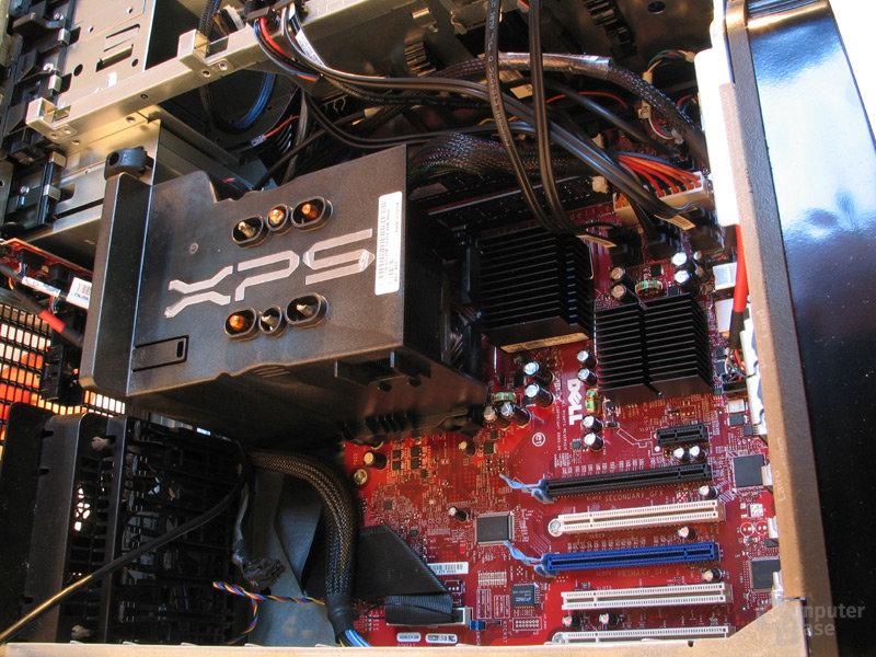 Voluminöses BTX-Kühlmodul zur CPU-Kühlung und Chipsatzbelüftung