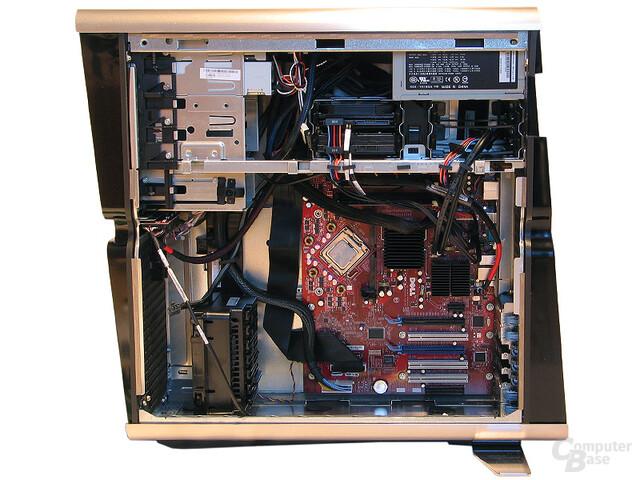 Blick aufs Dell-Mainboard