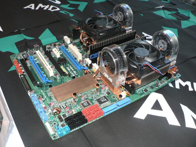 AMD 4x4-System