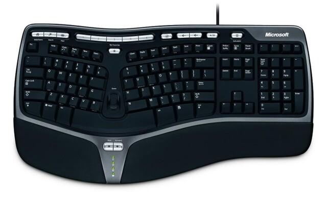 Microsoft Narural Ergonomic Keyboard 4000