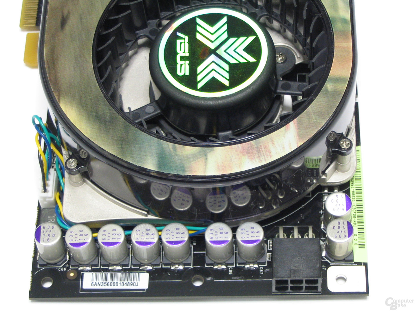 Asus 8800 GTS Spannungswandler