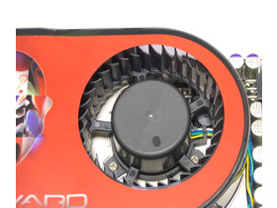 Gainward 8800 GTS Luefter