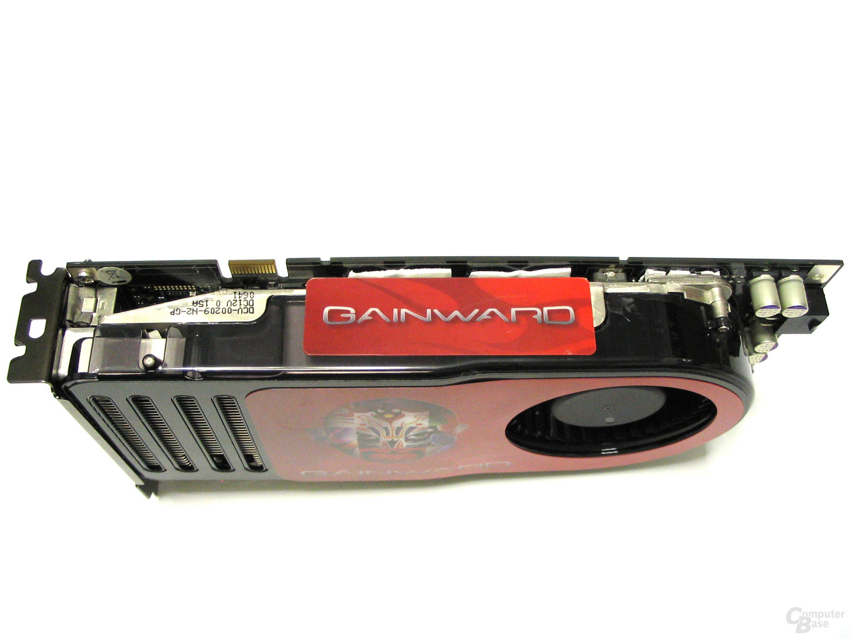 Gainward 8800 GTS Seitenansicht