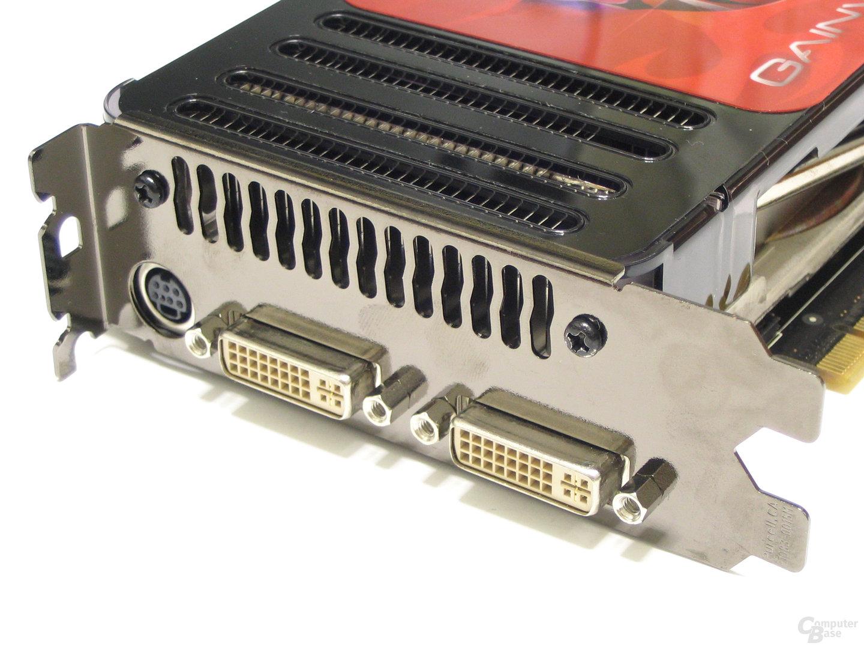 Gainward 8800 GTS Slotblech