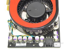 Gainward 8800 GTS Spannungswandler