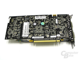 Gainward GeForce 8800 GTS Rueckseite
