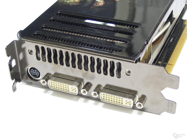Asus 8800 GTS Slotblech